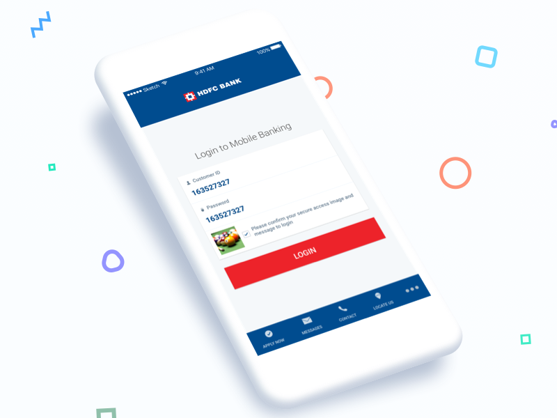 HDFC Mobile App Reimagined - Kumar Gaurav User Experience (UX) Designer
