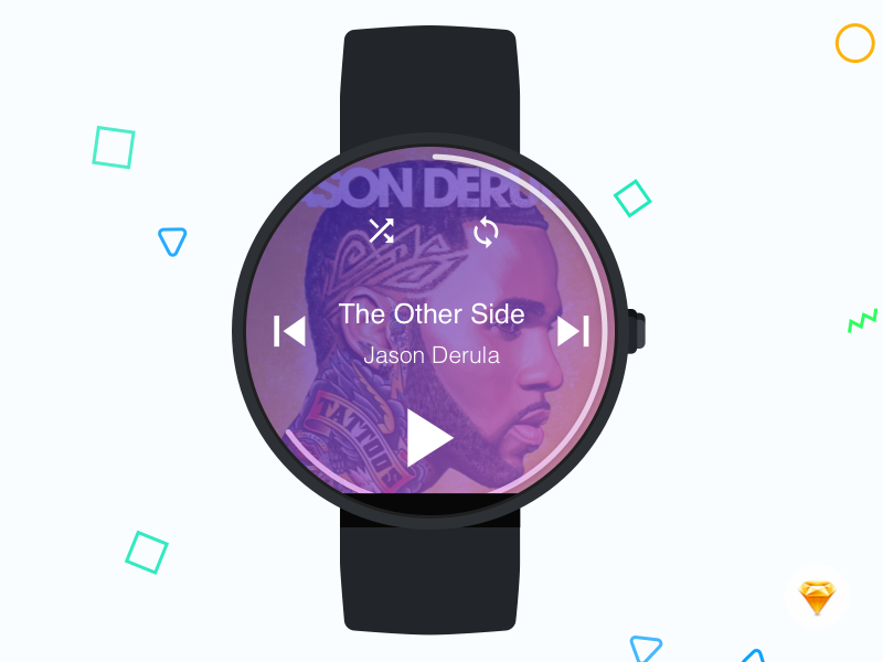 Watch Music Player - Kumar Gaurav User Experience (UX) Designer