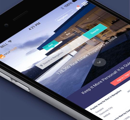Proptiger - Kumar Gaurav User Experience (UX) Designer